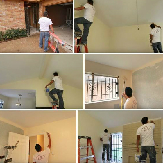 Painting And Drywall in Houston, TX   Daniels Home Services